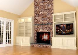 Built In With Fireplace Fireplace Wall Built Ins W Led Tv Fireplace Wall Built Ins And