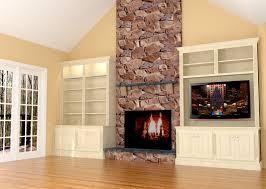Fireplace Built Ins Fireplace Wall Built Ins W Led Tv Fireplace Wall Built Ins And