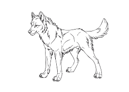 Coloring Inspirations Christmas Wolf Coloring Pages Printable