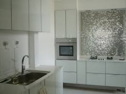 Kitchen Backsplash Panel 50 Kitchen Backsplash Ideas Metallic Mirrored Tiles Create A