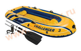 Challenger-3: надувная <b>лодка Intex Challenger-3</b>.