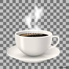 coffee cup transparent background. Unique Cup Cup On Saucer Hot Coffee With Steam Object The Transparent Background  Americano Throughout Coffee Transparent Background E