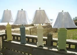 adorable beach themed table lamps decor coastal floor lamp blue inside beach table lamps