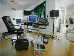 fresh clean workspace home. Cool-Clean-Workspaces-wooden-floor-working-chair-computer- Fresh Clean Workspace Home
