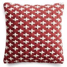 mima wool pillow  red throw pillows  blu dot