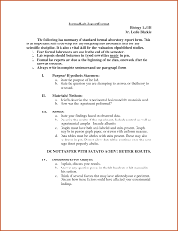 Example Of Data Analysis Report And Formal Lab Report Example Sop ...
