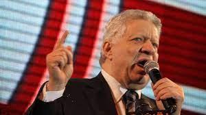 حذاء مرتضى منصور يشعل انتخابات الزمالك