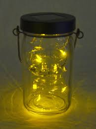 Solar Jars Jar Solar Lights Glass Mason Jar Solar String Lights The Green