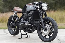 so it was a to build one and things didn t bode well the first time he laid eyes on the donor bike