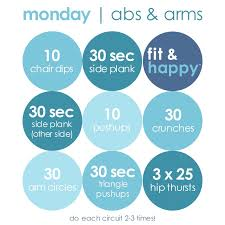 Weekly Workout Plan – The Happiest Blog