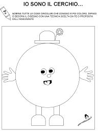 Schede Didattiche Figure Geometriche Per Bambini Di 34 Anni