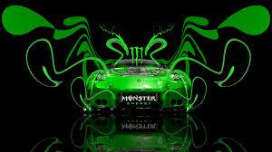 monster energy nissan 350z veilside plastic car