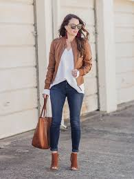 how to wear leather for spring