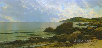 alfred thompson bricher paintings for low tide hetherington cove grand manan island