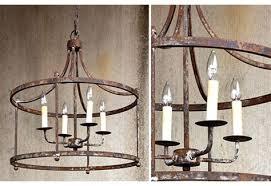 rustic chandelier pendant light french farmhouse