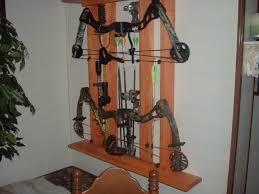 compound bow wall mount source lasincamo com 14372