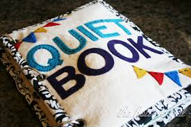 finished quiet book