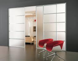 awesome glass bifold closet doors with cozy dark pergo flooring