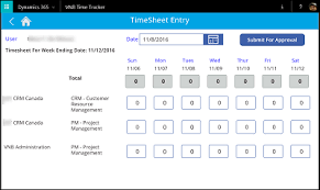 Timesheet Time Tracker Partner Showcase Microsoft Powerapps