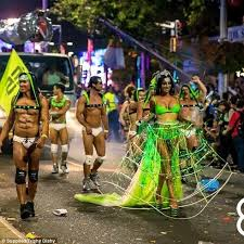 Here They Come Trishy Dishy Of Hot Kandi Said When It Comes To Preparing  For. Image Number 12 Of Best Mardi Gras Costumes ...