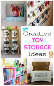 Creative DIY Toy Storage Ideas