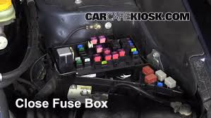 replace a fuse 2012 2016 subaru impreza 2012 subaru impreza 2 0 6 replace cover secure the cover and test component