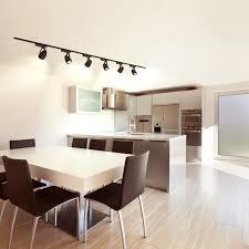 wilsons office 2x 150 black six light 12w led track light kit artistic home office track