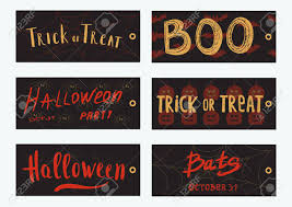 Halloween Gift Cards Set Of 6 Halloween Gift Cards Cute And Scary Cards Templates