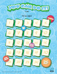 I Can Do It Chart Printable You Can Do It Chart 25 Day Imom
