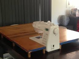 DIY: Sewing Machine Extension Table - And Sew We Craft & sewing machine extension table Adamdwight.com