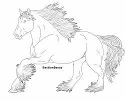Small Picture Coloring Pages Clydesdale Horse Coloring Pages To Print Coloring