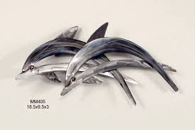 dolphins abstract on copper dolphin wall art with dolphin wall art mm405 copper art
