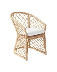 avalon dining chair natural serena