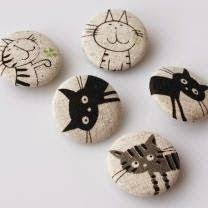 78 Best <b>Animals</b> images in 2018 | Painted stones, Pebble painting ...