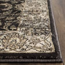safavieh vintage black ivory area rug reviews wayfair for and beige rugs ideas 12