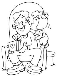 Kleurplaat Vaderdag Liefste Papa Kleurplatennl Dibujos