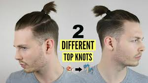 Topknot Hair Style mens top knot man bun hairstyle tutorial how to 2017 youtube 7146 by wearticles.com