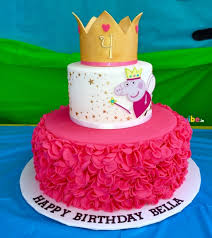 Order Beautiful Peppa Pig Cake Online Birthday Cake In Bangalore