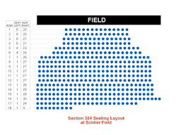Seating Chart Soldier Field Kenny Chesney Soldier Field Seating Plan Soldier Field Concert Seating