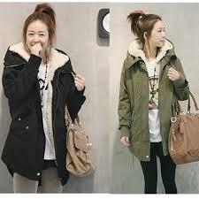 women s winter faux fur thicken fleece long
