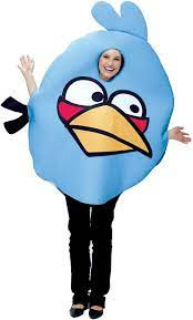 Amazon.com: Angry Birds Blue Bird Adult Costume - Adult Std. : Clothing,  Shoes & Jewelry