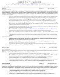 Fields Of Interest In A Resume