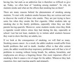 cause and effect of cigarette smoking essay hoga hojder cause and effect of cigarette smoking essay