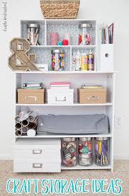 diy storage ideas for craft supplies consumer crafts diy craft storage armoire diy craft storage solutions