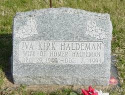 Lepha Iva Kirk Haldeman (1904-1993) - Find A Grave Memorial