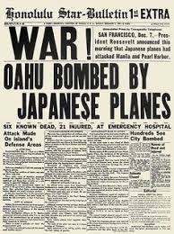 pearl harbor attacked american history pearl  world war ii pearl harbor the front page of the honolulu star bulletin
