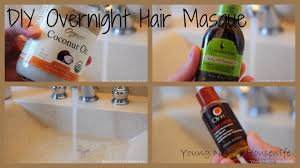 diy overnight hair masque