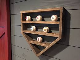 image of how to build a baseball display case