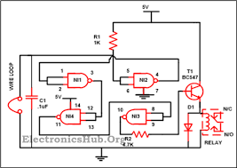 luggage security alarm project circuit using logic gates posts luggage security alarm circuit using logic gates here is an easy circuit which is based