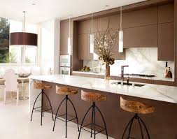 kitchen island lighting hanging. Kitchens Stunning Modern Kitchen With Brown Intended For Lighting Above Island Renovation Hanging